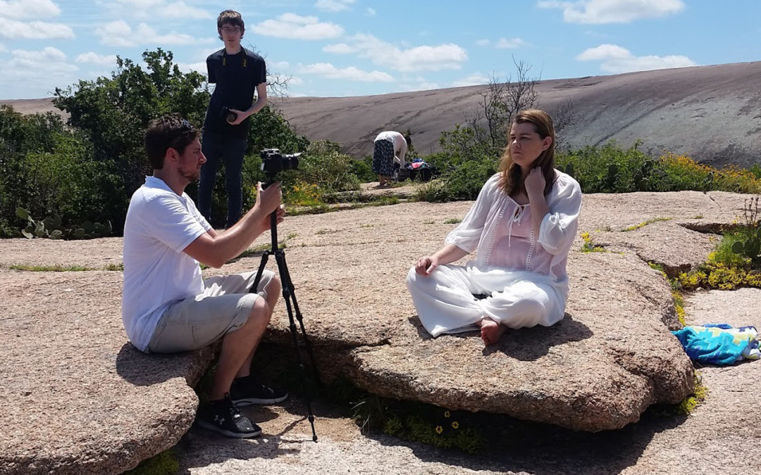 Filming On Location: Enchanted Rock